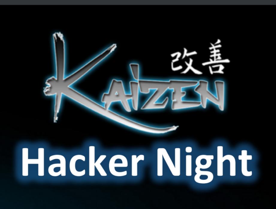 Kaizen Hacker Night