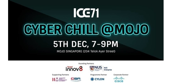 ICE71 CYBER CHILL @MOJO