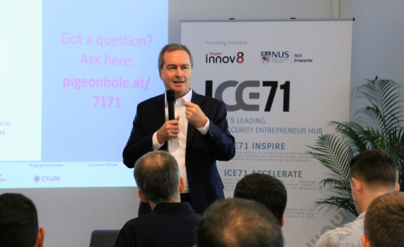 Navigating the Global Cyber Threat Landscape — In conversation with Robert Hannigan, Former Director of UK GCHQ