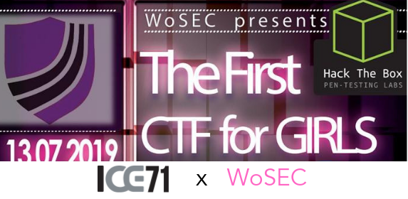 WoSec's Inaugural CTF for Girls @ ICE71