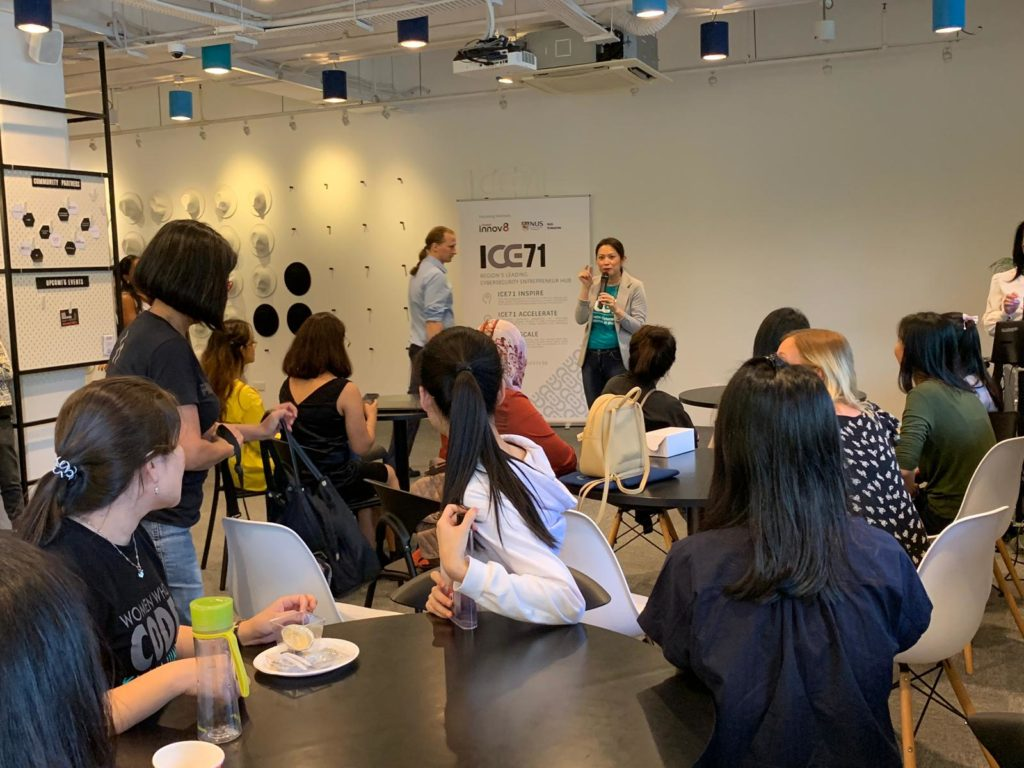 The First CTF For Girls in Singapore - ICE71