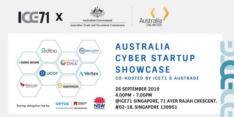 Australia Cyber Startup Showcase
