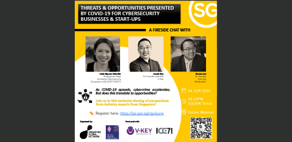 Threats and Opportunities Presented by COVID-19 for Cybersecurity Businesses and Start-ups