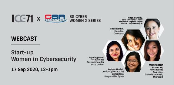 SG Cyber Women X ICE71: Start-up Women in Cybersecurity