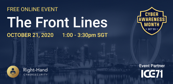 ICE71 X Right Hand Cybersecurity Event – The Front Lines