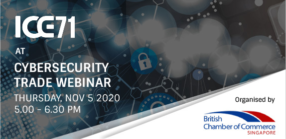 ICE71 at British Chamber of Commerce Cybersecurity Trade Webinar