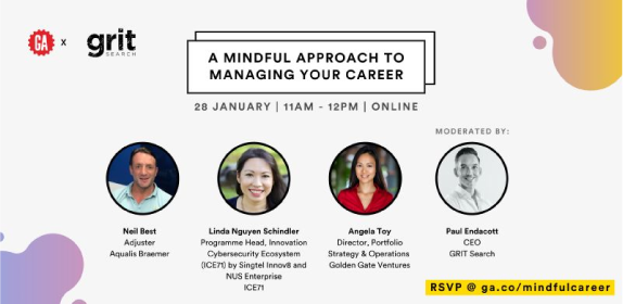 ICE71 at General Assembly x GRIT Search Webinar: A Mindful Approach to Managing your Career