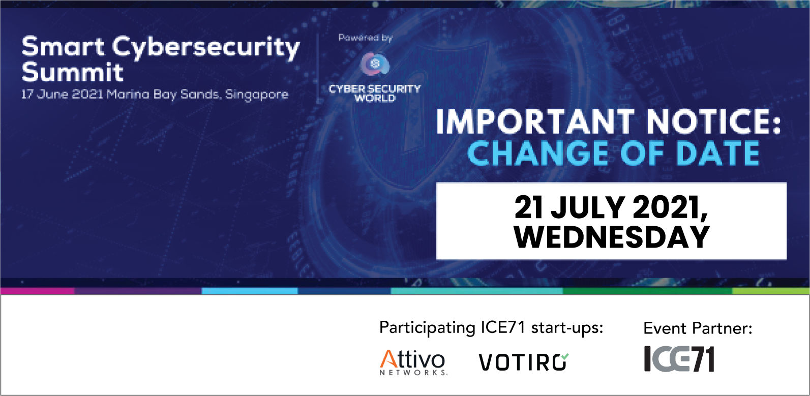ICE71 at Smart Cybersecurity Summit