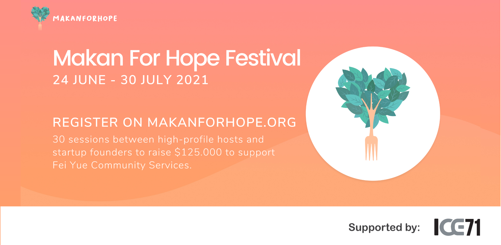 ICE71 at Makanforhope Festival 2021