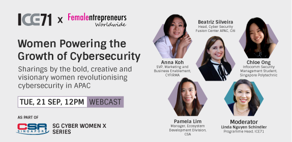 ICE71 x FEW Panel Webcast: Women Powering the Growth of Cybersecurity