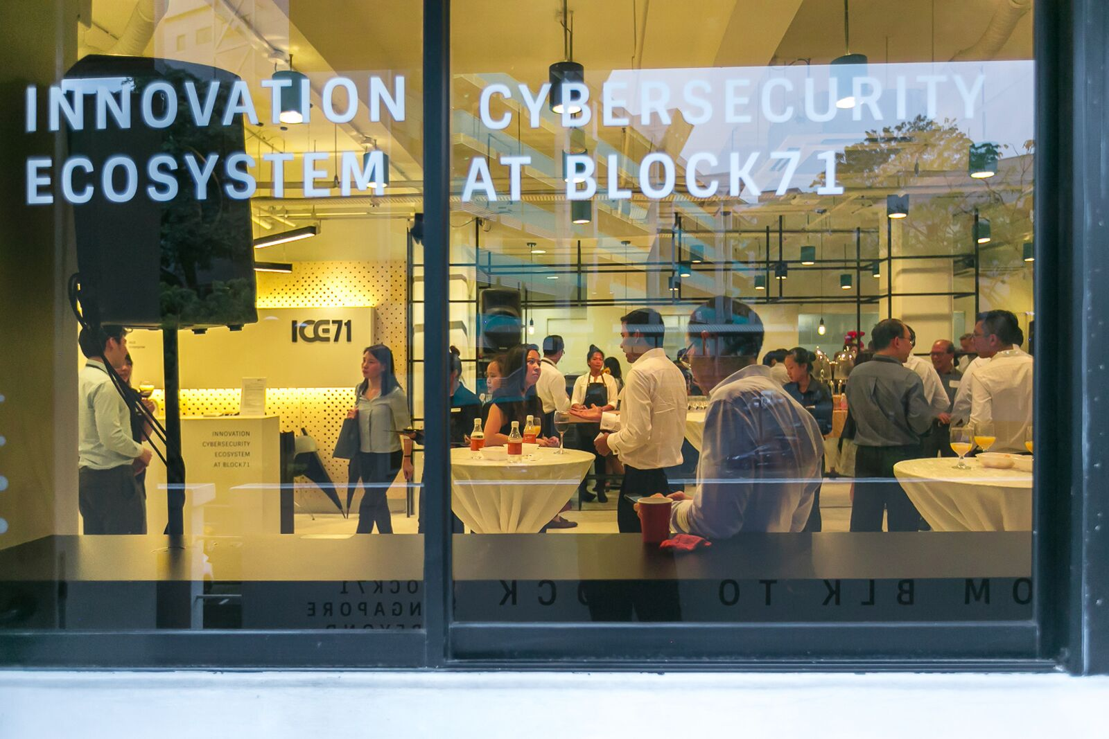 Innovation Cybersecurity Ecosystem at Block 71 - ICE71